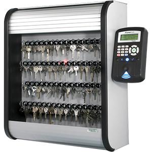 Sistema di controllo accessi con gestione delle chiavi tramite bacheca elettronica