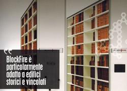 Blockfire Makros Sistema ignifugo archiviazione ideale per edifici storici e vincolati
