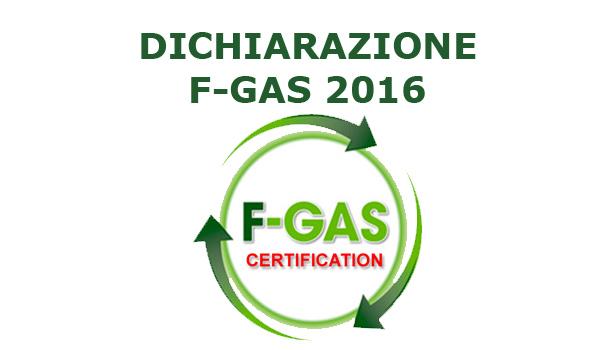 Blog SEI Sicurezza dichiarazione F-Gas 2016
