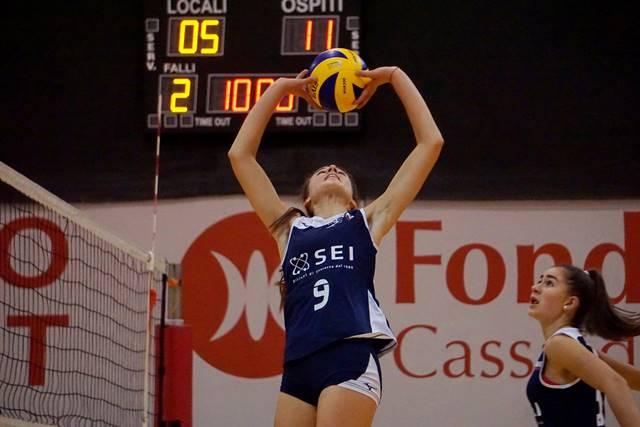 SEI Sicurezza si Padova è sponsor della Aduna Volley Under 16