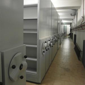 Gli Archivi Ignifughi Compattabili proposte da SEI Sicurezza come Sistemi di archiviazione documenti cartacei