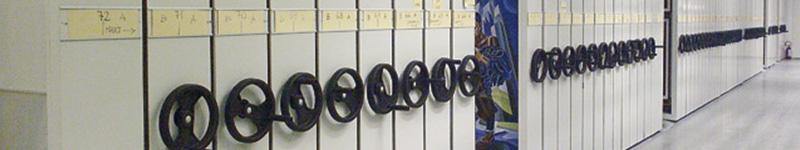 Sistemi Archiviazione Documenti Cartacei - Archivi Compattabili