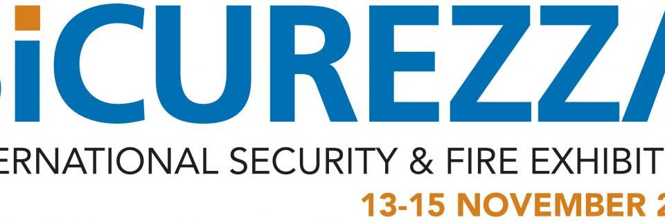 Logo Fiera Sicurezza 2019 Rho