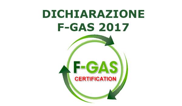 Blog SEI Sicurezza - Dichiarazione F-gas 2017