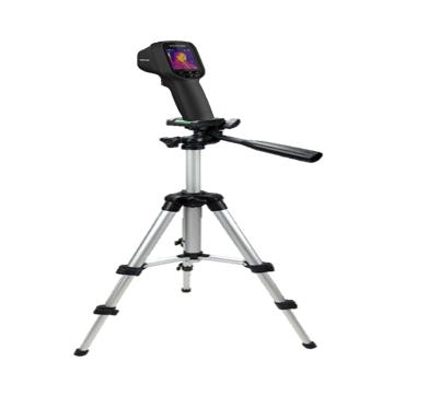 Videosorveglianza con telecamere termometriche e termografiche con treppiede pixel